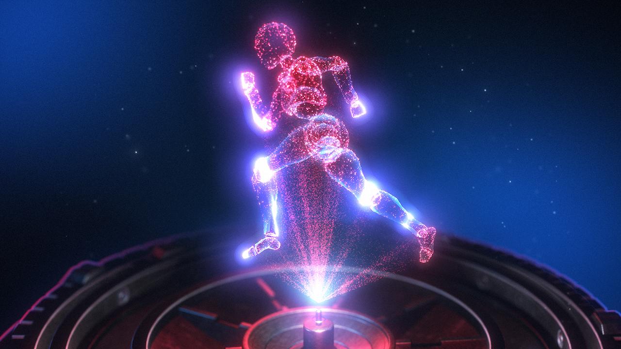 Hologramm...